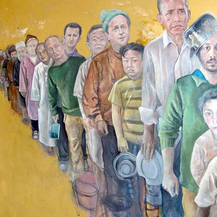 'Tatlı bir intikam': Dünya liderleri mülteci oldu