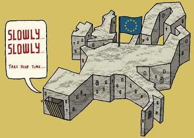 Kale Avrupa'sının Türkiye sınırı