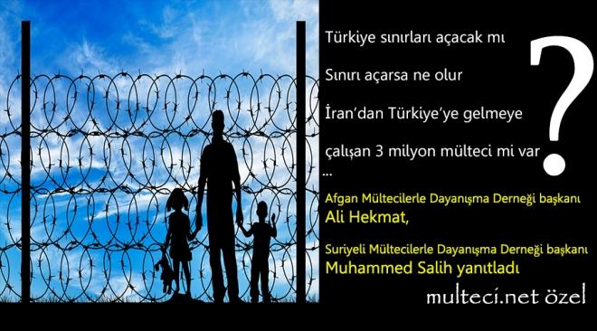 Türkiye sınırları açacak mı, açarsa ne olur?  Muhammed Salih yanıtlıyor