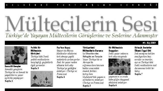 Mültecilerin Sesi Dergisi